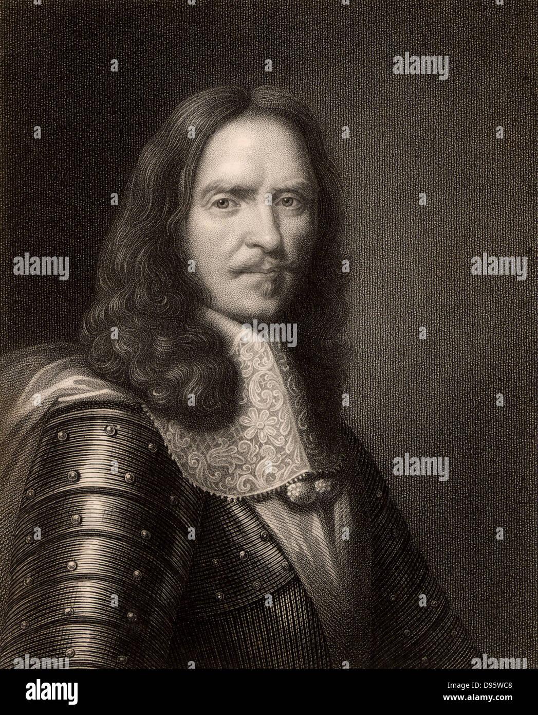 Henri de la Tour d'Auvergne Turenne, Vicomte de Turenne (1611-1675) French soldier; marshal of France 1644; - Stock Image