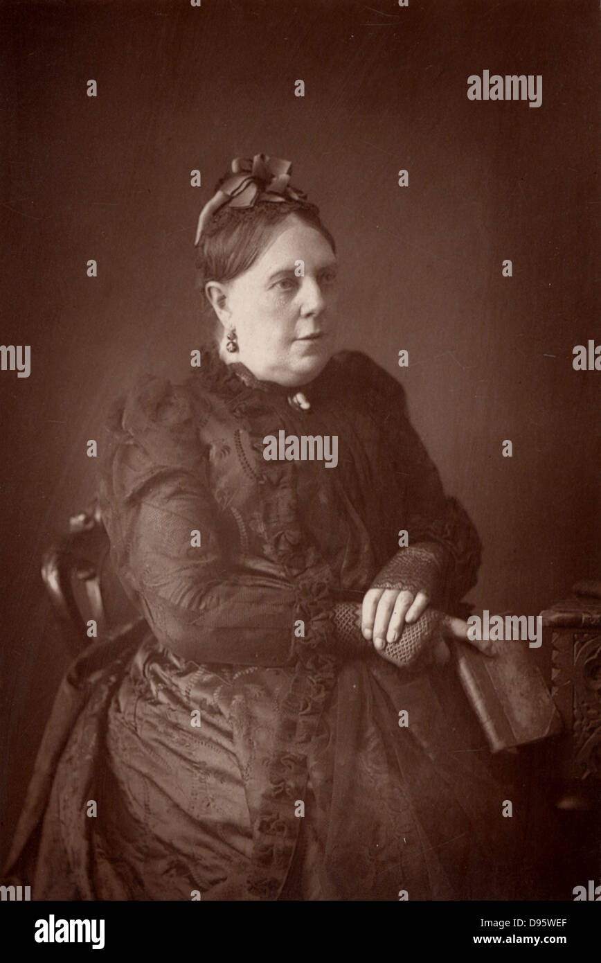 Annie French Hector (1825-1902) who wrote under the name of 'Mrs Alexander'.  A minor English novelist, - Stock Image