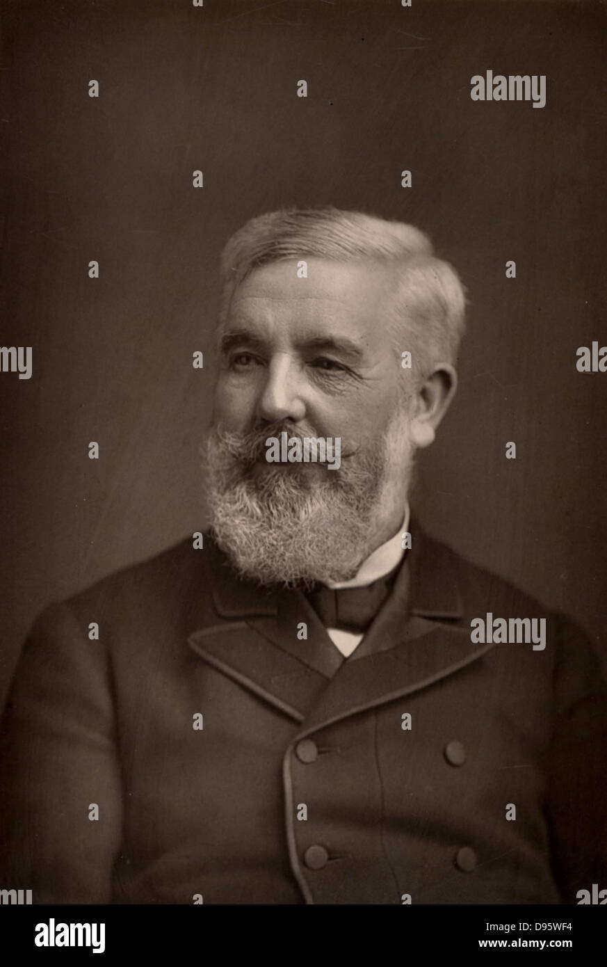 Sydney Henry Waterlow (1822-1906) London printer and philanthropist.  Lord Mayor of London 1872. From 'The Cabinet - Stock Image