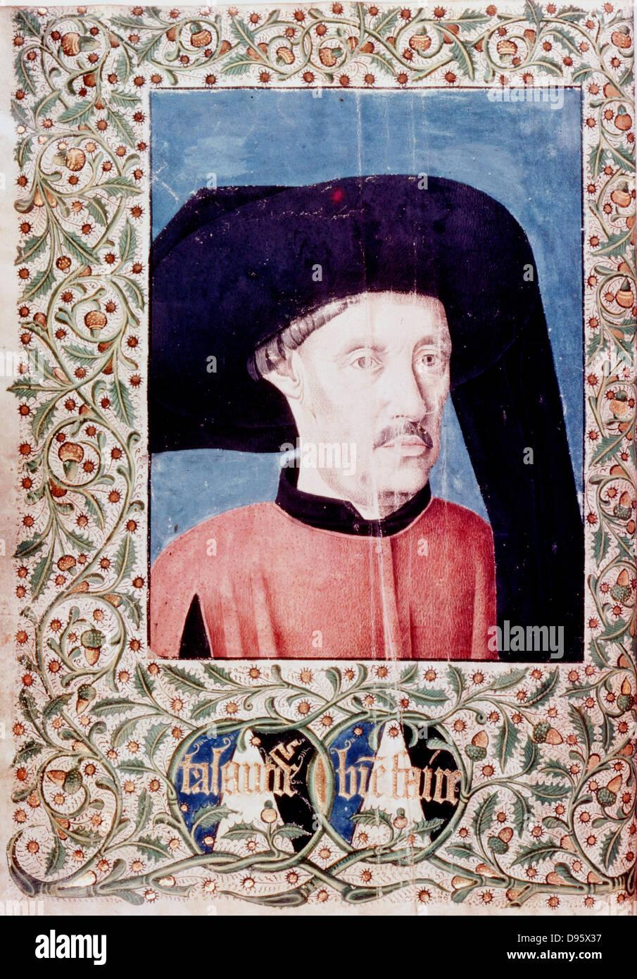 Henry the Navigator (1394-1460) Portuguese prince, founder of school of navigation. - Stock Image