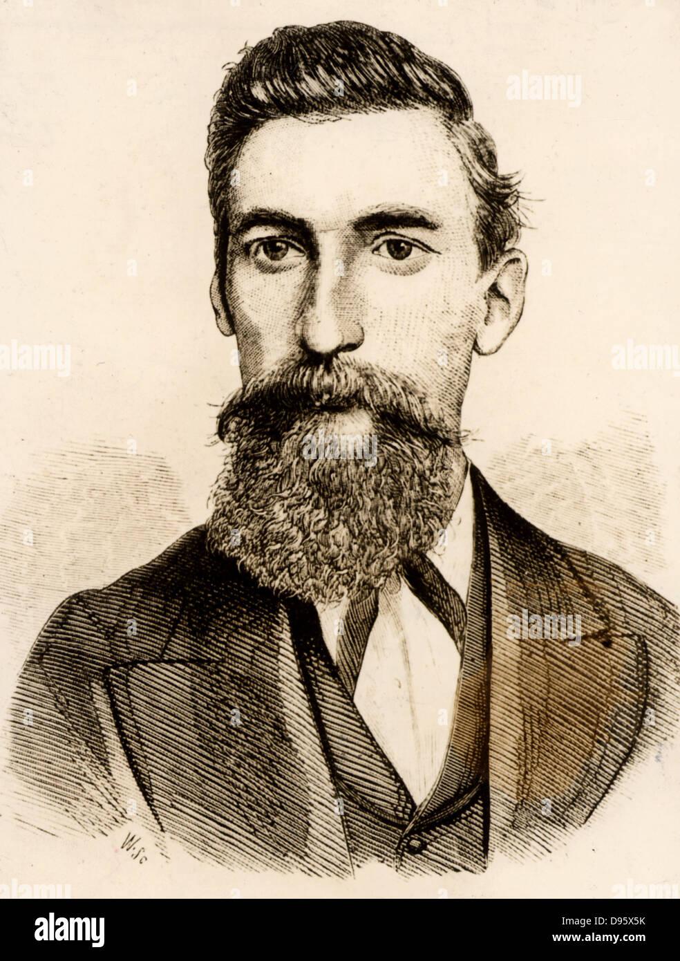 Robert Applegarth (1834-1924) prominent English trade union leader. - Stock Image