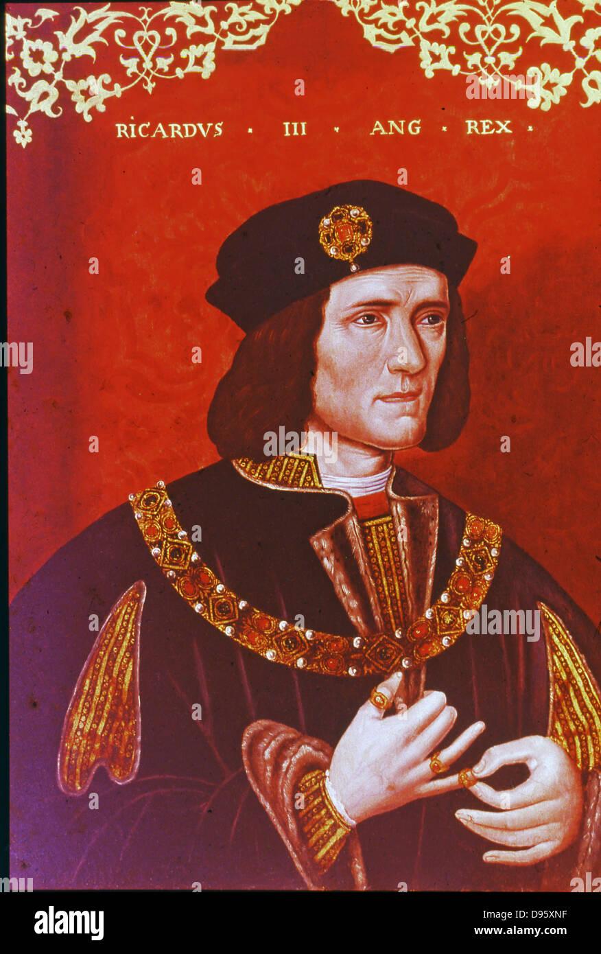 Richard III (1452-1485) King of England from 1483. - Stock Image