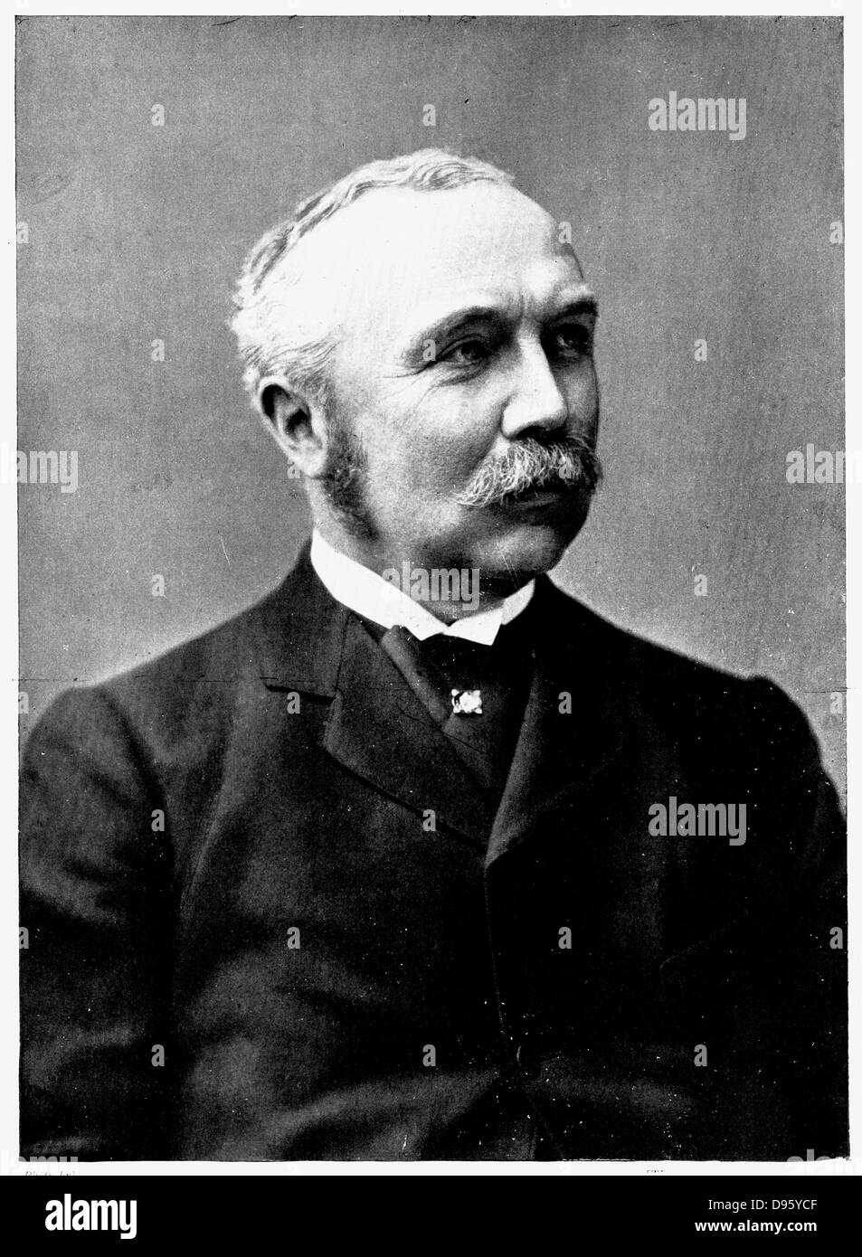 Henry Campbell-Bannerman (1836-1908) Scottish-born British statesman. Leader of the Liberal Party, 1899. Prime Minister - Stock Image