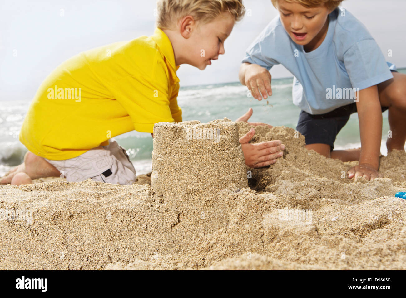 Boys Playing On Beach At Palma De Mallorca High Resolution Stock Photography And Images Alamy