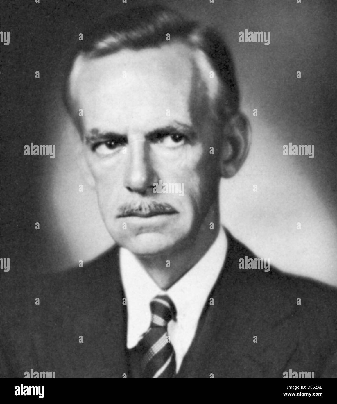 Eugene Gladstone O'Neil (1888-1953) American playwright. - Stock Image