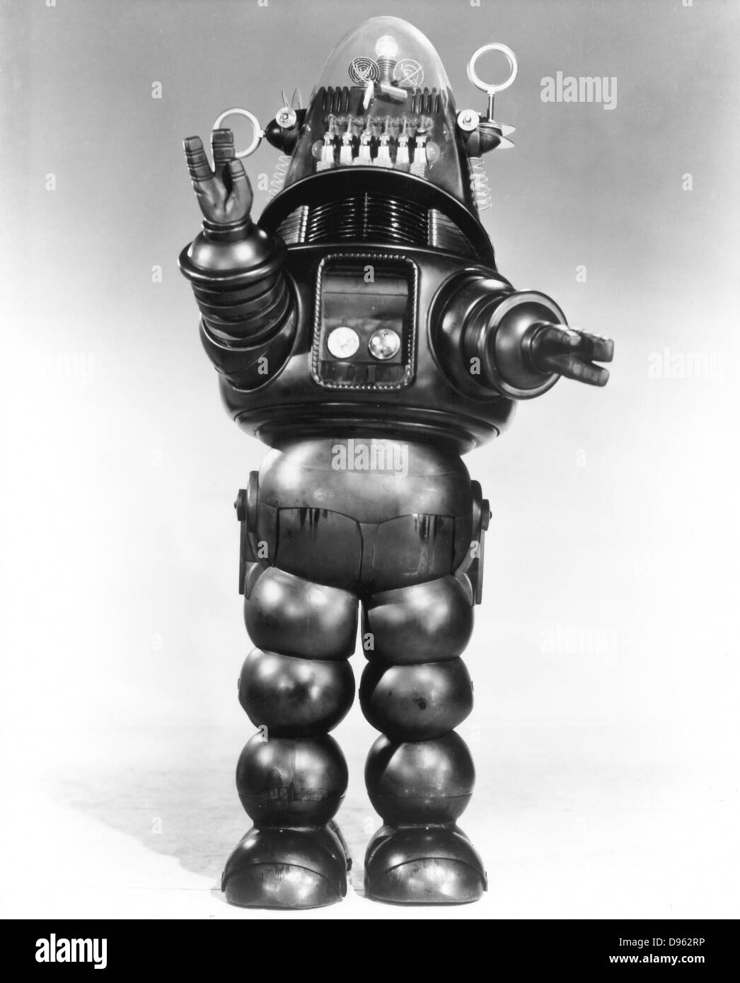 Robbie the Robot. From MGM film 'Forbidden Planet', 1956. Stock Photo