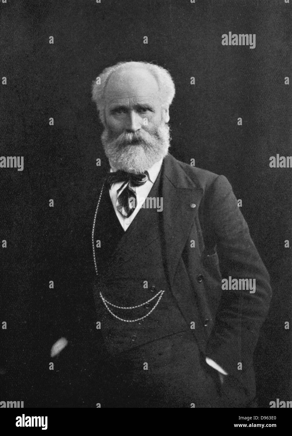 (James) Kier Hardie (1856-1915) Scottish-born British Labour leader, a founder of the Labour Party. - Stock Image