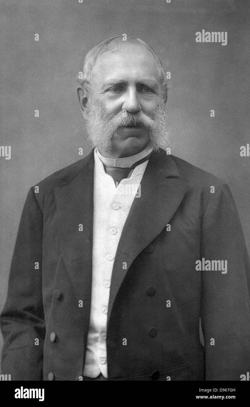 Albert (1828-1902) King of Saxony from 1874. Photograph published London c1890. Woodburytype - Stock Image