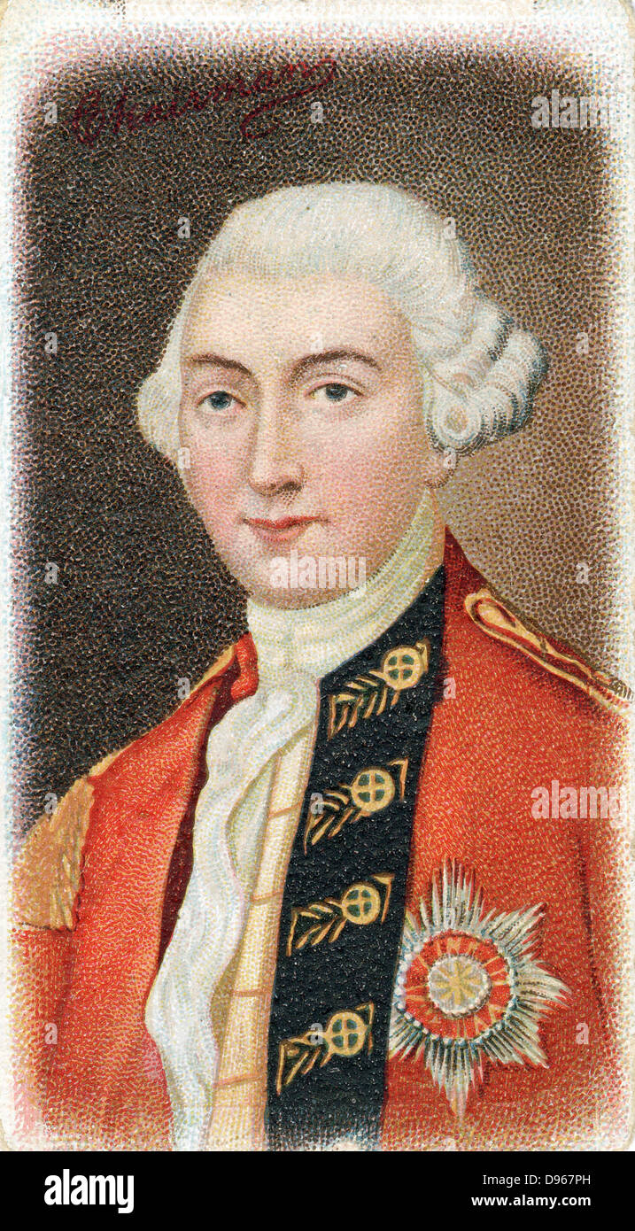 Jeffrey Amherst, lst Baron Amherst (1717-1797) English soldier, Commander-in-Chief in North America 1769, Governor - Stock Image