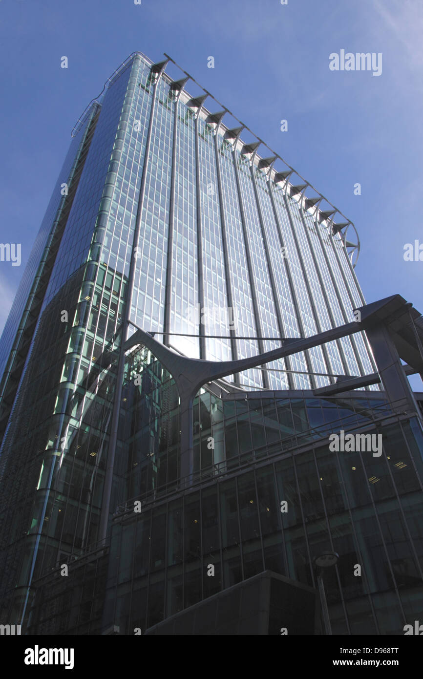 Citypoint office building in the City of London - Stock Image