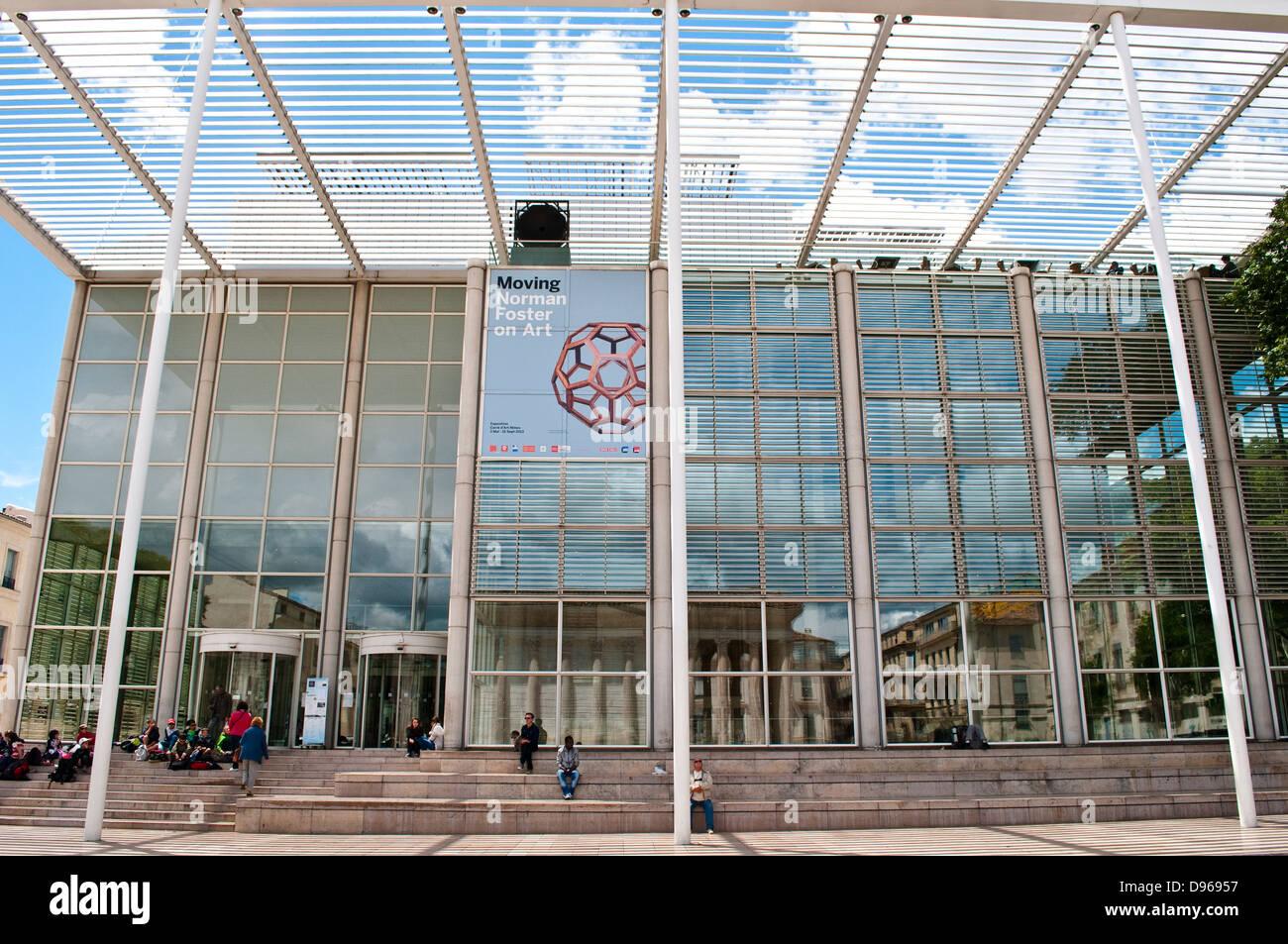 D Art Exhibition Jbr : Nimes france museum stock photos