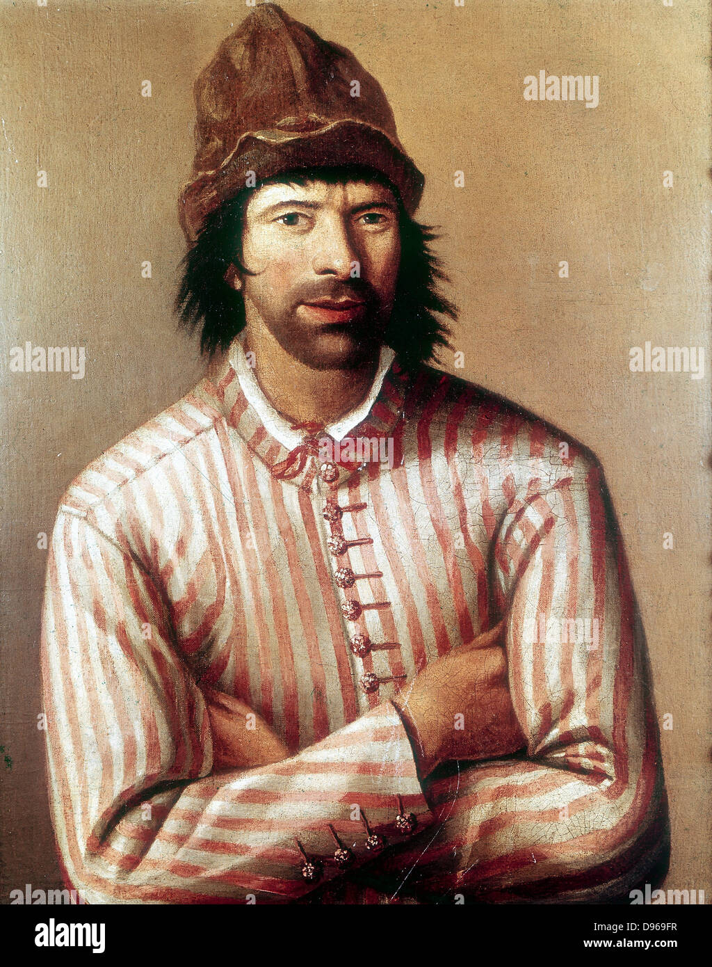 Peter I, the Great (1672-1725) Tsar of Russia from 1682, here dressed as a ship's carpenter's apprentice - Stock Image