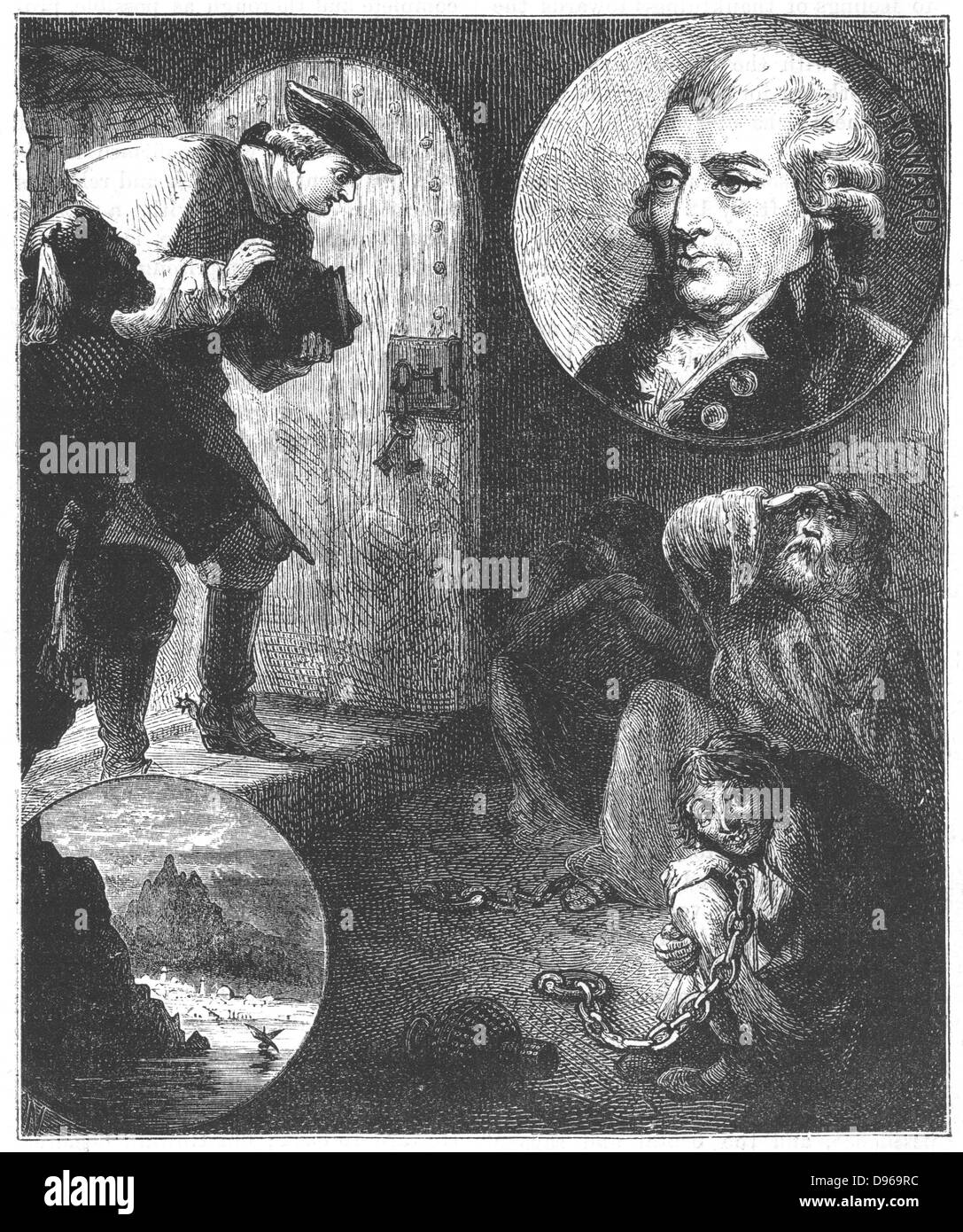 John Howard (1726-90) English prison reformer. From 1773 began campaign to  improve awful conditions in English prisons.