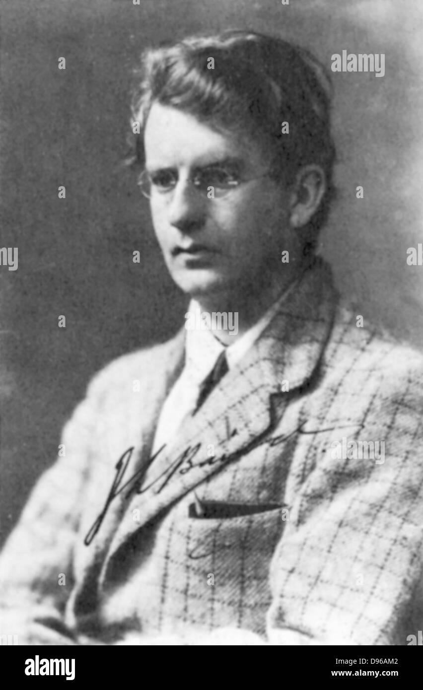 John Logie Baird (1888-1946) Scottish electrical engineer; pioneer of television. - Stock Image