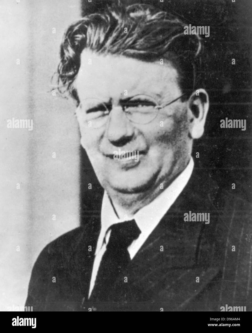 John Logie Baird (1888-1946) Scottish electrical engineer; pioneer of television. - Stock Image
