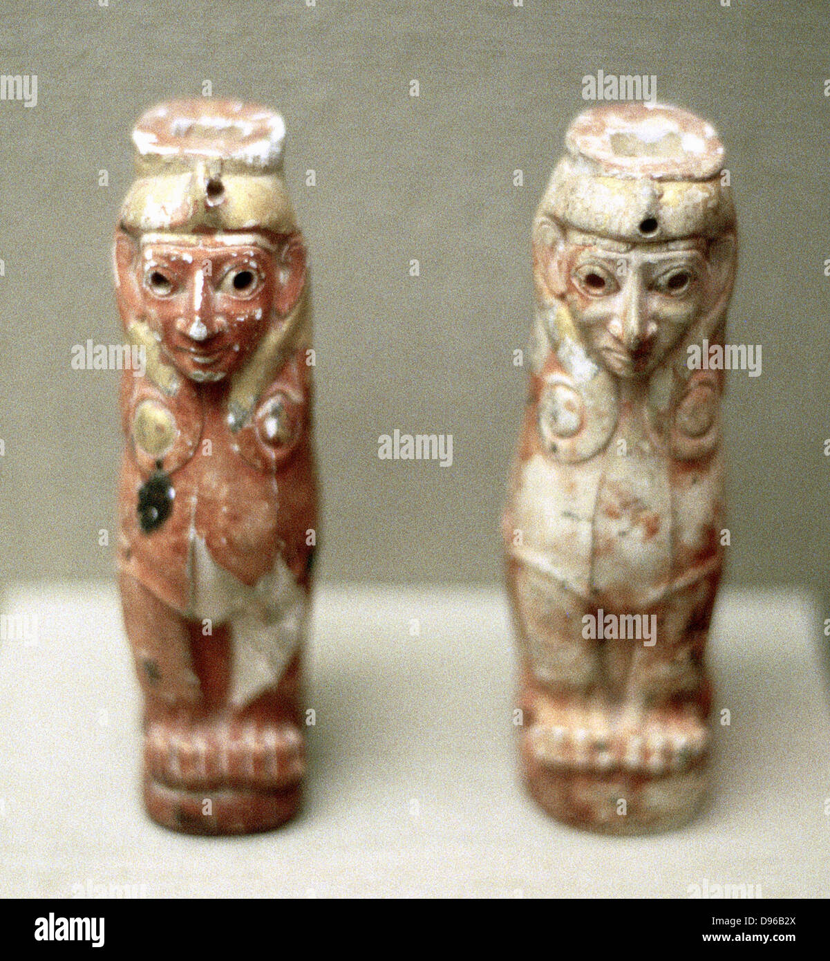 Artefacts (Sphinx figures) from Turkey, 1800 BC - Stock Image