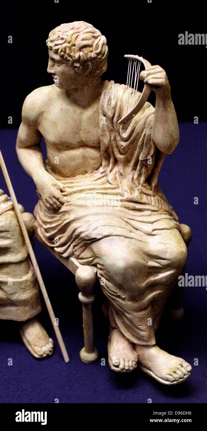3-D recreation of the Olympian gods of the Parthenon frieze. By sculptors from the Tsukuba University, and Tokyo - Stock Image