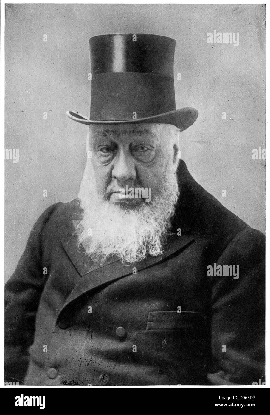 (Stephanus Johannes) Paulus Kruger (1825-1904) known as Oom Paul. South African politician. - Stock Image