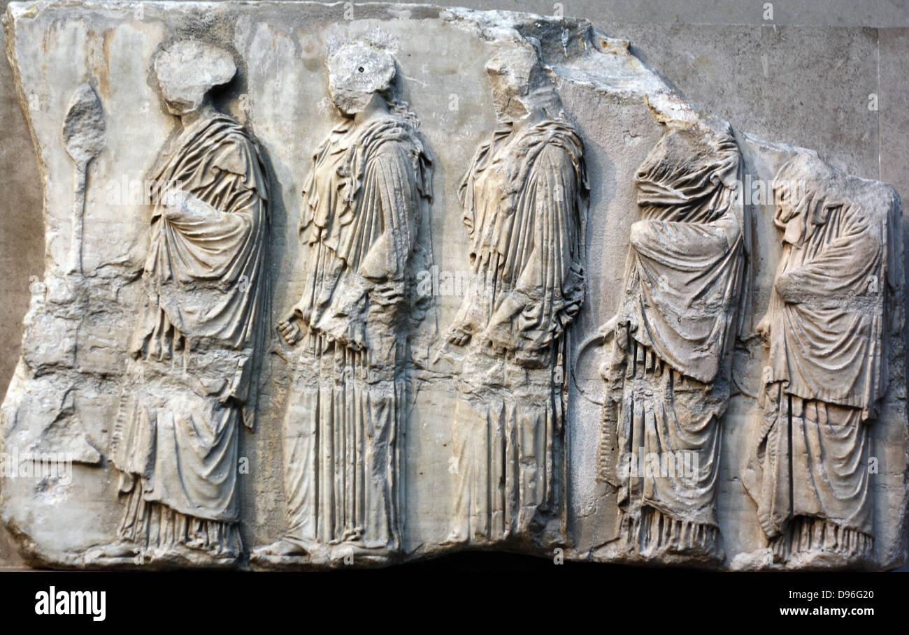 detail from the parthenon frieze greek marble sculpture made stock photo 57307320 alamy. Black Bedroom Furniture Sets. Home Design Ideas