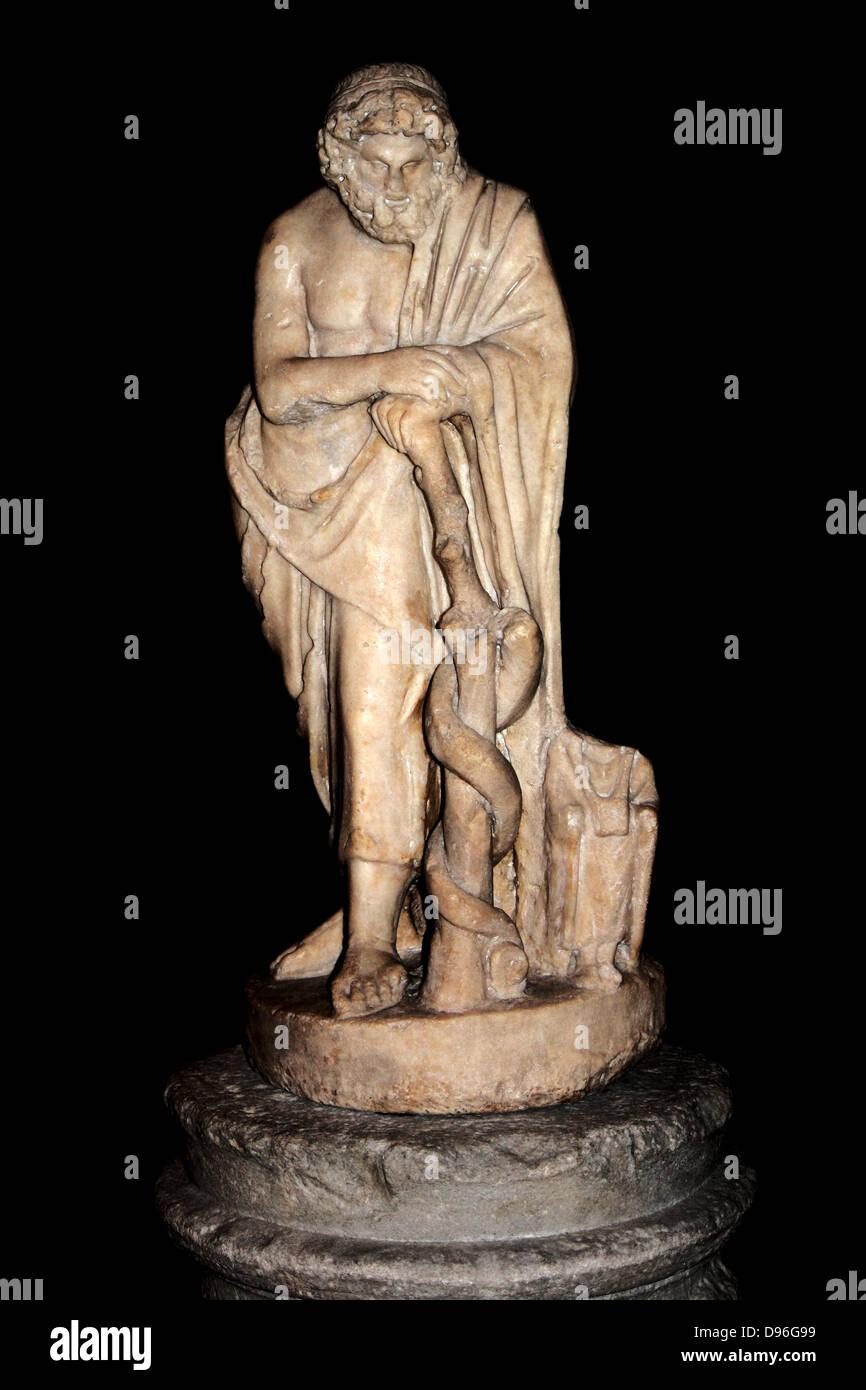 Greek God Statue Stock Photos & Greek God Statue Stock