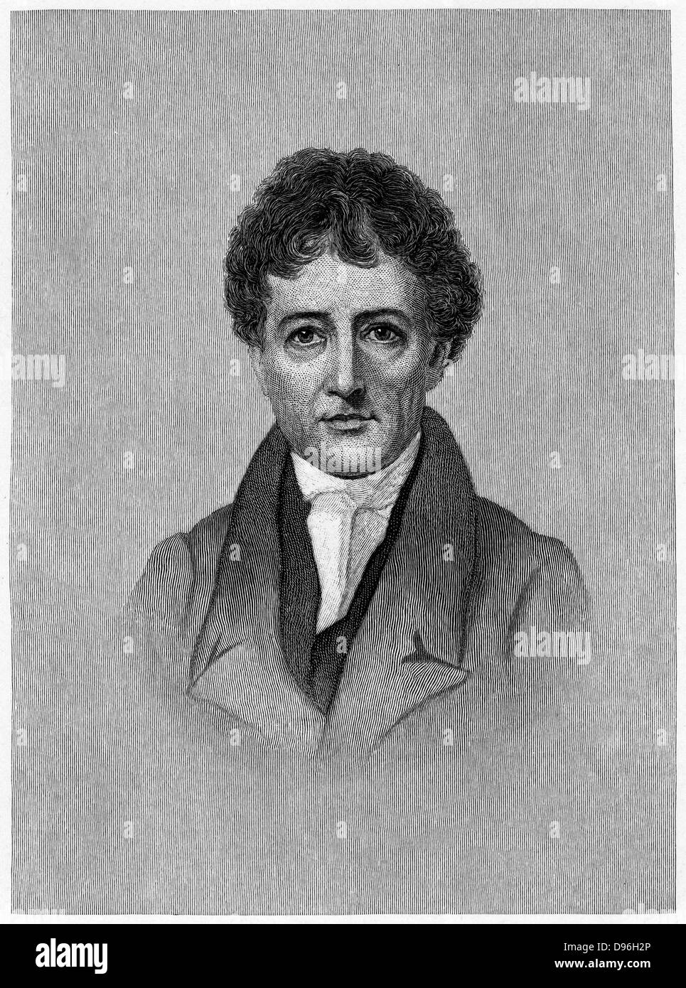 Charles Lamb (1775-1834) English essayist, c1880. Lamb used the pseudonym 'Elia'. With his sister Mary he - Stock Image