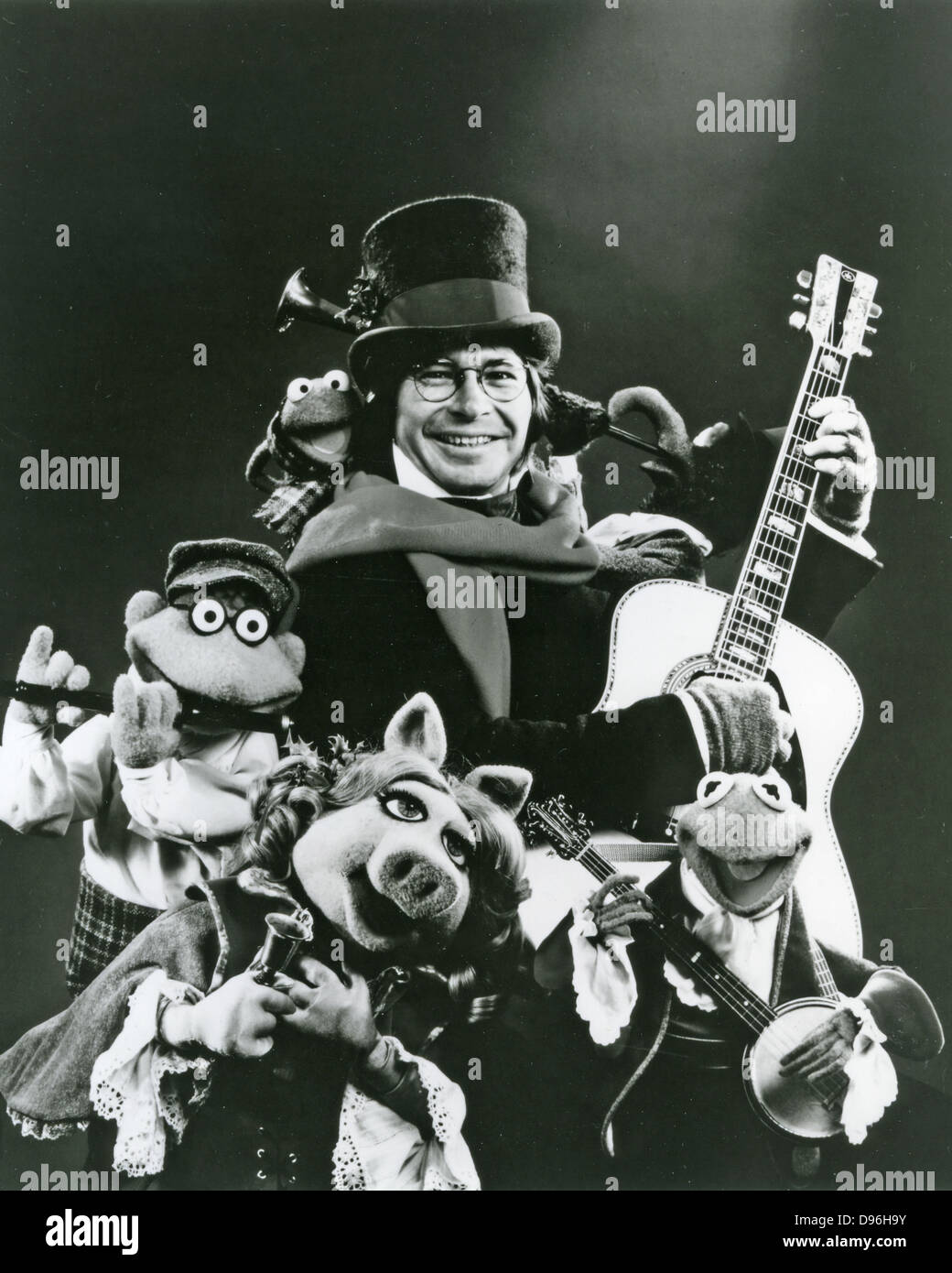 JOHN DENVER (1943-1997) Promotional photo of US singer on US1979 TV ...