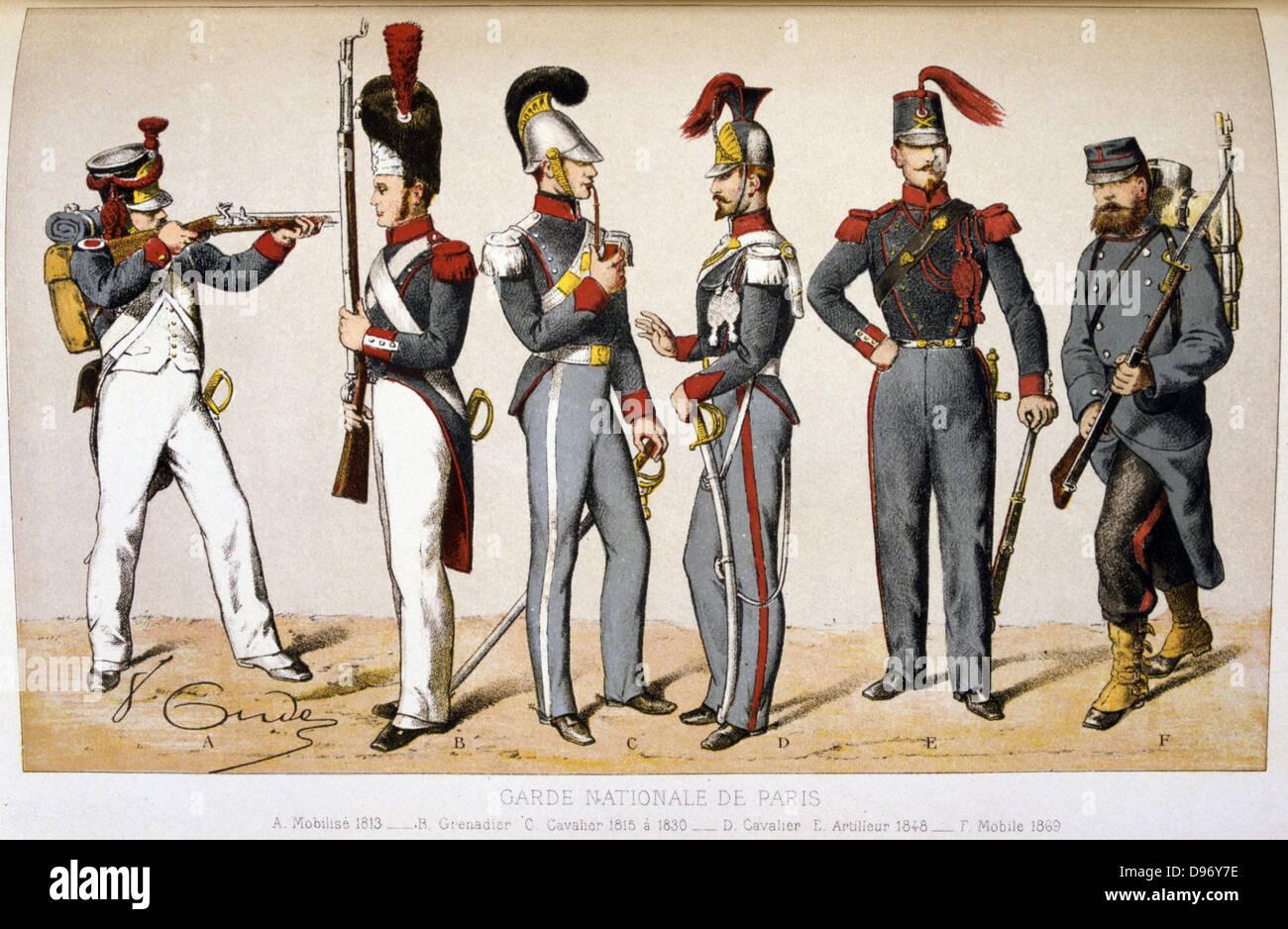 Garde Du Corps Marseille paris national guard stock photos & paris national guard