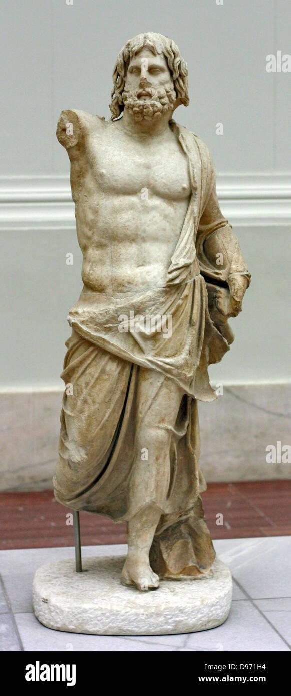 Pergamum Panorama Of Ancient Metropolis. - Stock Image