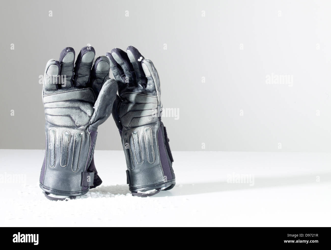 Gloves symbol for winter holidays Stock Photo