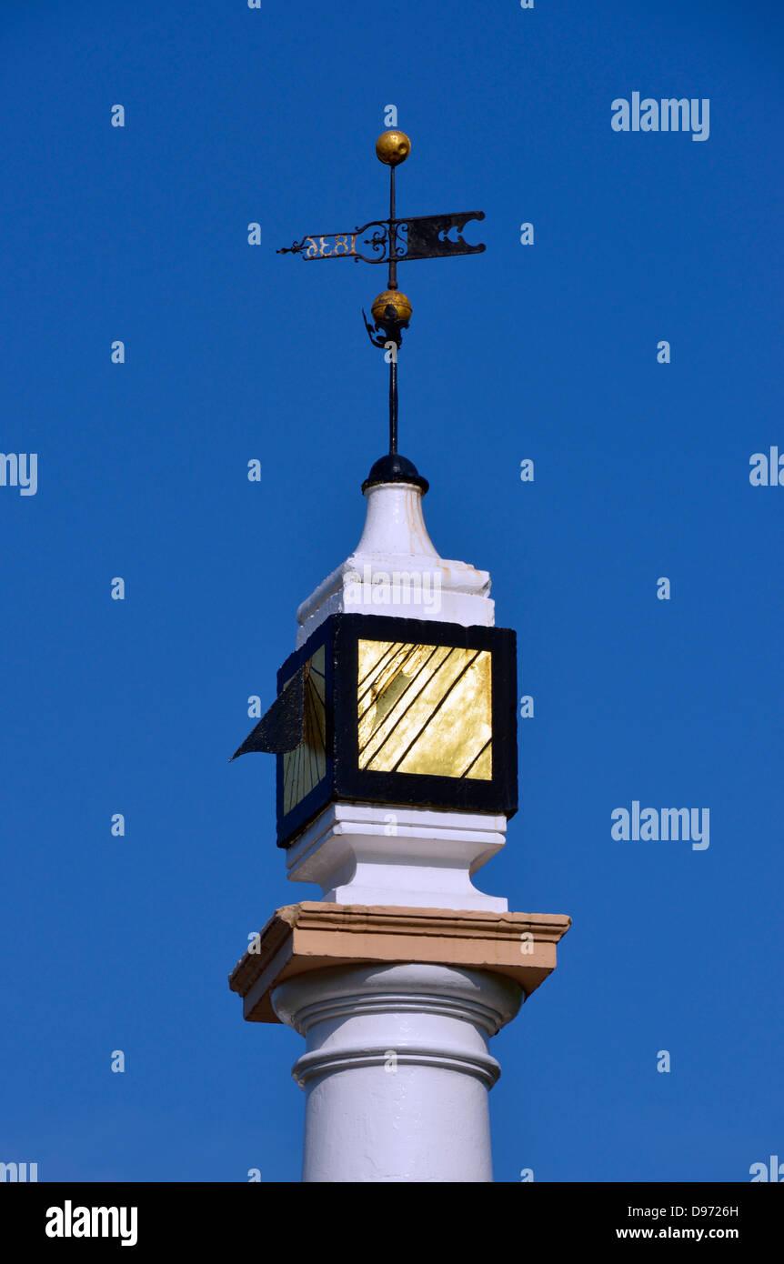 High Cross (detail). Boroughgate, Appleby-in Westmorland, Cumbria, England, United Kingdom, Europe. - Stock Image