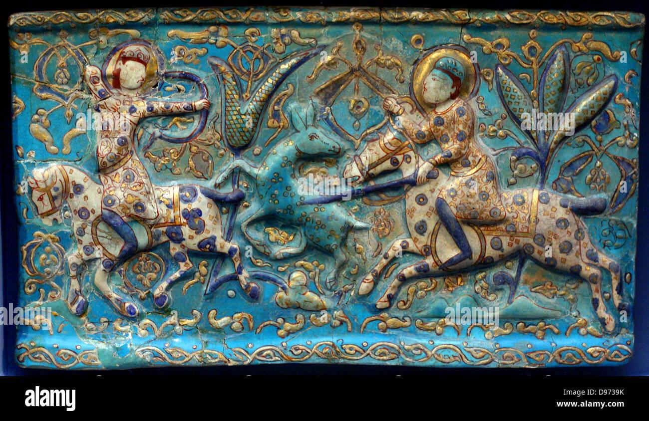 Glazed ceramic tile iran stock photo 57319295 alamy glazed ceramic tile iran dailygadgetfo Images