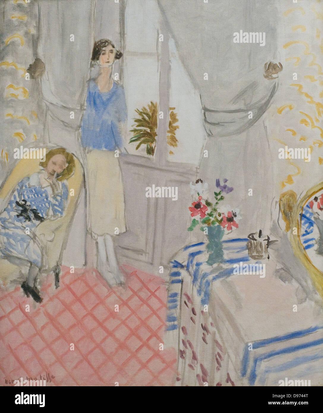 Henri Matisse Le Boudoir 1921 XX th Century Paris Orangerie Museum - Stock Image