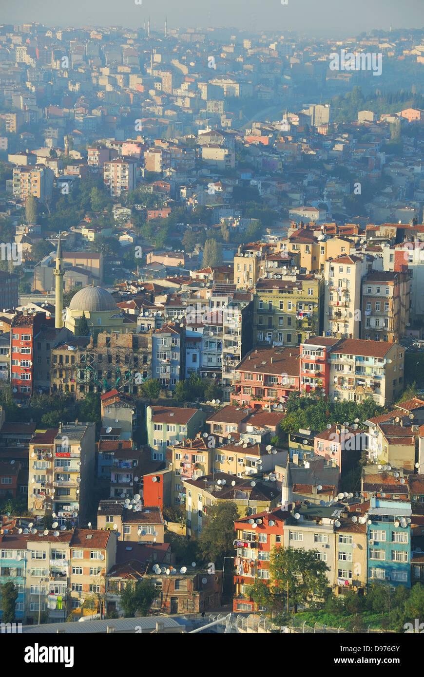 ISTANBUL, TURKEY. Urban sprawl. - Stock Image