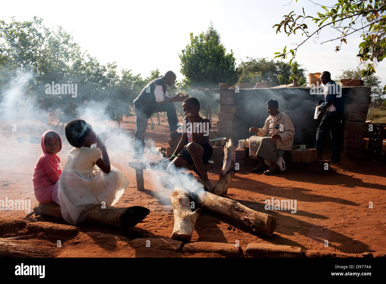 Fairbridge Seleka 48 taxi driver home family in Burgerrecht in Bochum district Limpopo South Africa Limpopo's - Stock Image