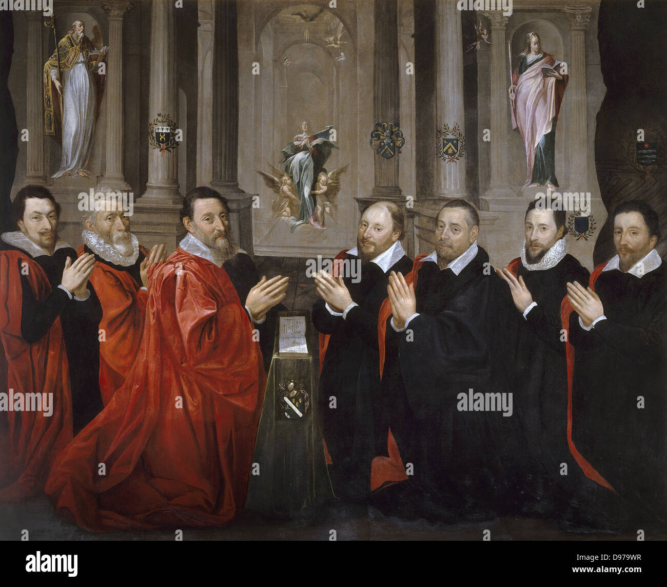Georges Lallemand The provost of merchants 1611 Carnavalet Museum - Paris - Stock Image