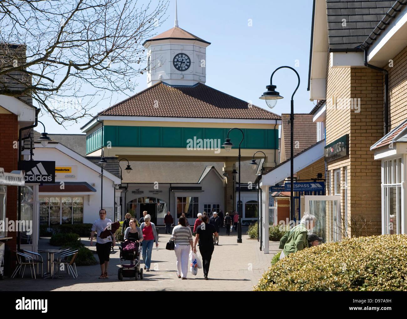 Freeport retail shopping centre, Braintree, Essex, England - Stock Image