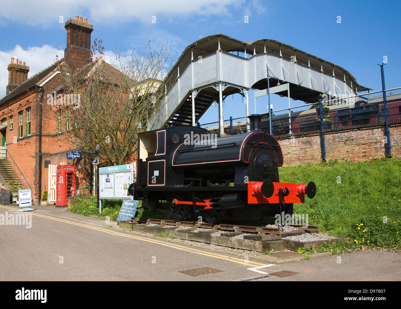 East Anglian railway museum, Chapell, Essex, England - Stock Image