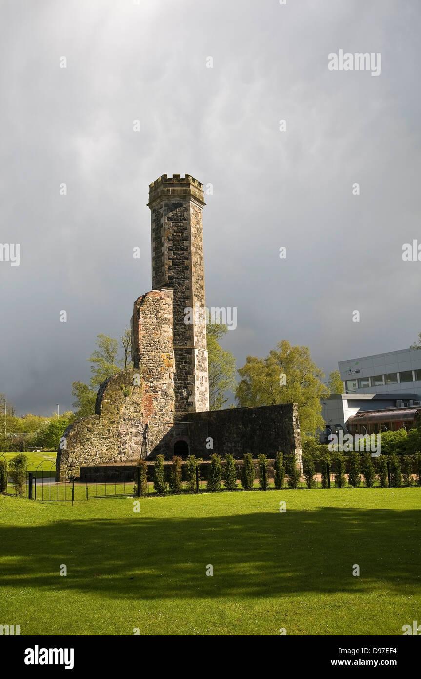 Antrim Castle Gardens, County Antrim, Northern Ireland, UK - Stock Image