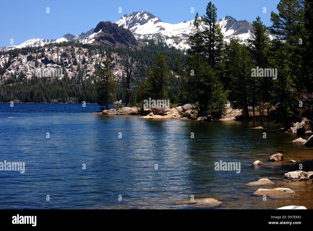 Caples lake near kirkwood california stock photo for Kirkwood login
