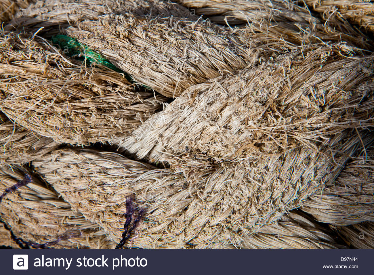 Old Wire Rope Stock Photos & Old Wire Rope Stock Images - Alamy