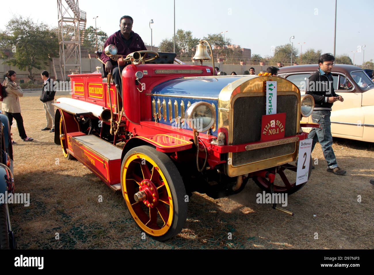 The 1914 John Morris, built in Manchester, was India\'s first fire ...