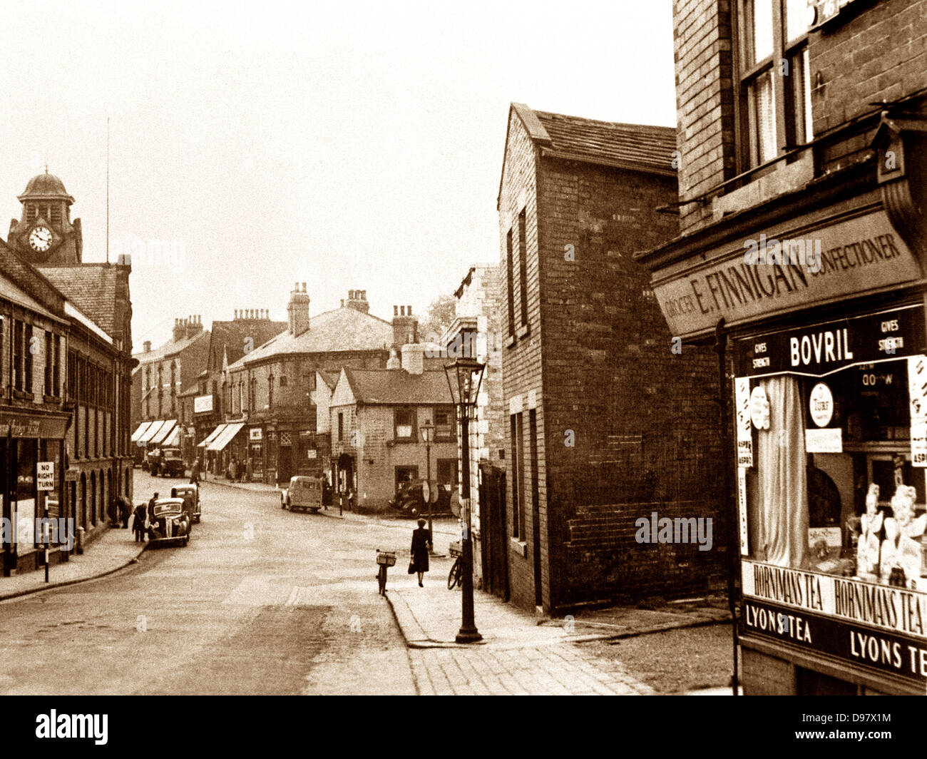 Armley Stocks Hill probably 1930s - Stock Image