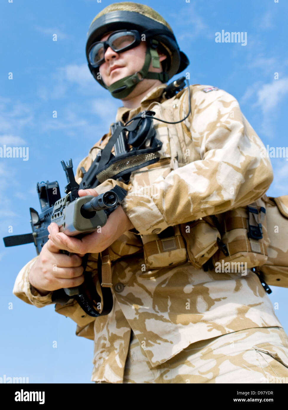 British Royal Commando - Stock Image