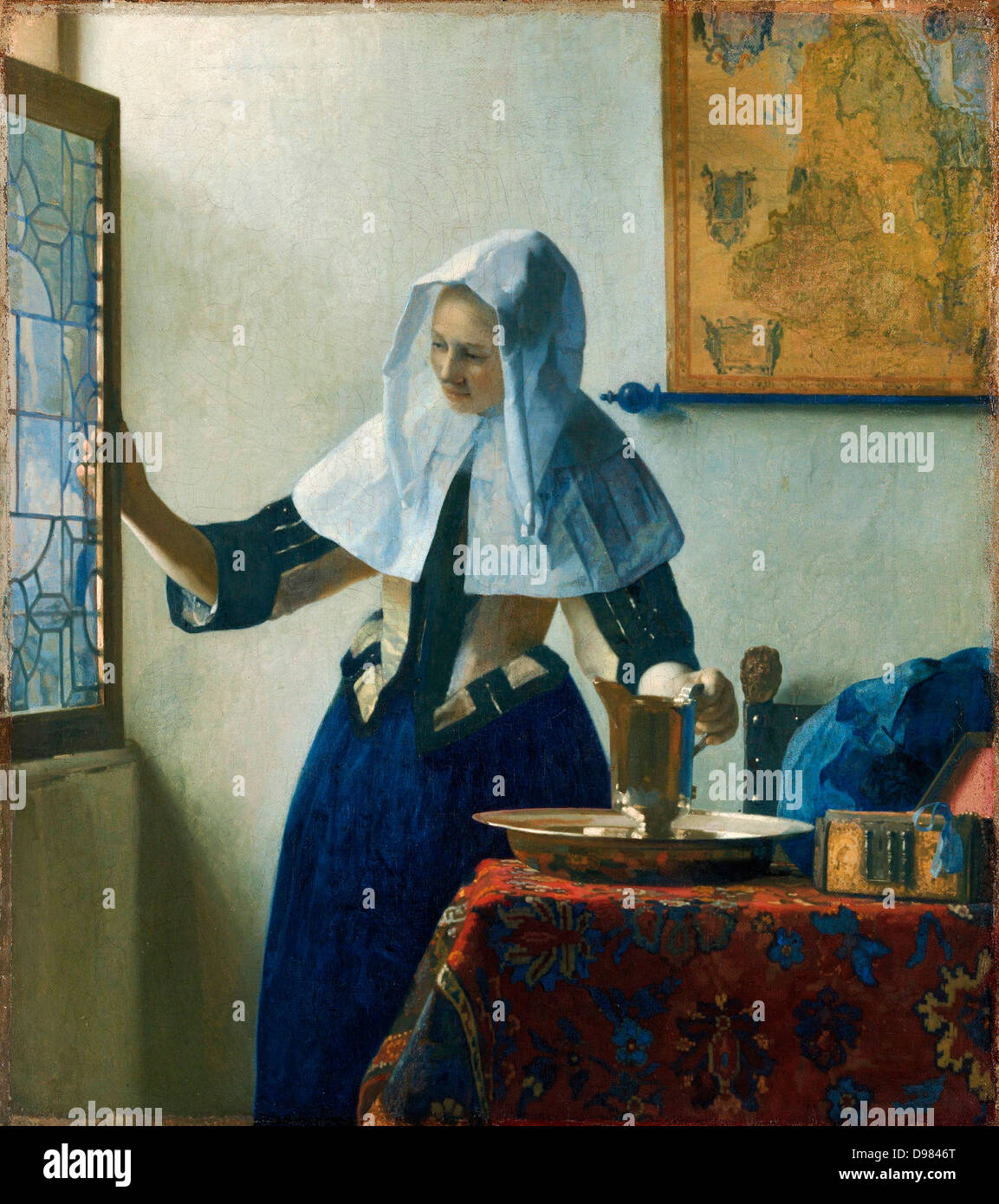 the love letter vermeer johannes vermeer the letter circa 1669 on 11078 | johannes vermeer the love letter circa 1669 oil on canvas rijksmuseum D9846T