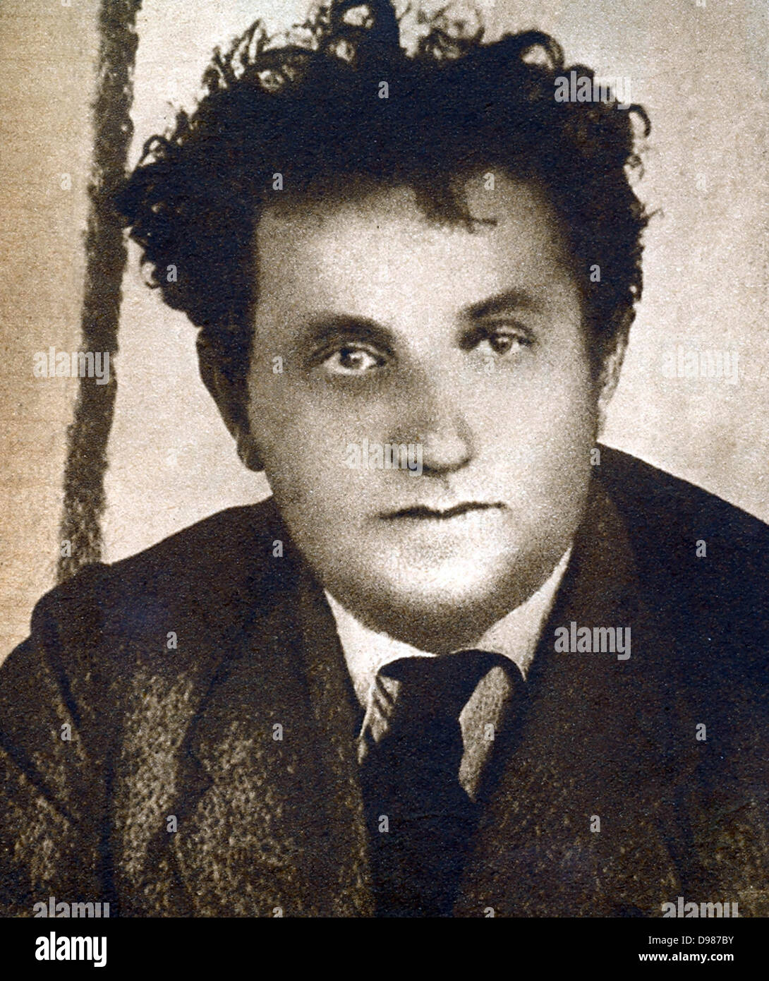 Grigory Zinoviev (1883-1936), prominent member of the Russian Communist Party. Charged with forming a terrorist - Stock Image