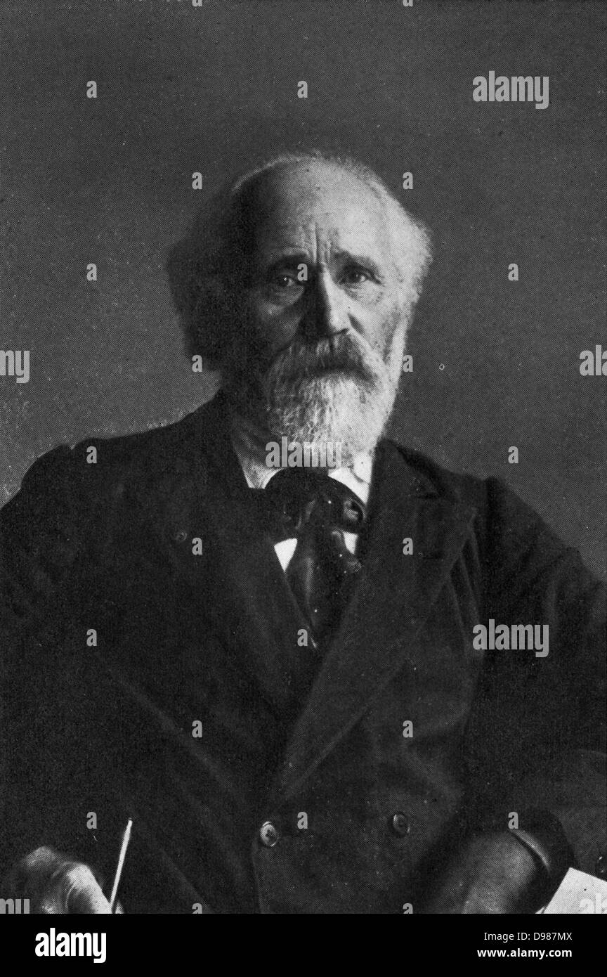 James Keir Hardie (1856-1915), Scottish Laborite parliamentary leader. - Stock Image