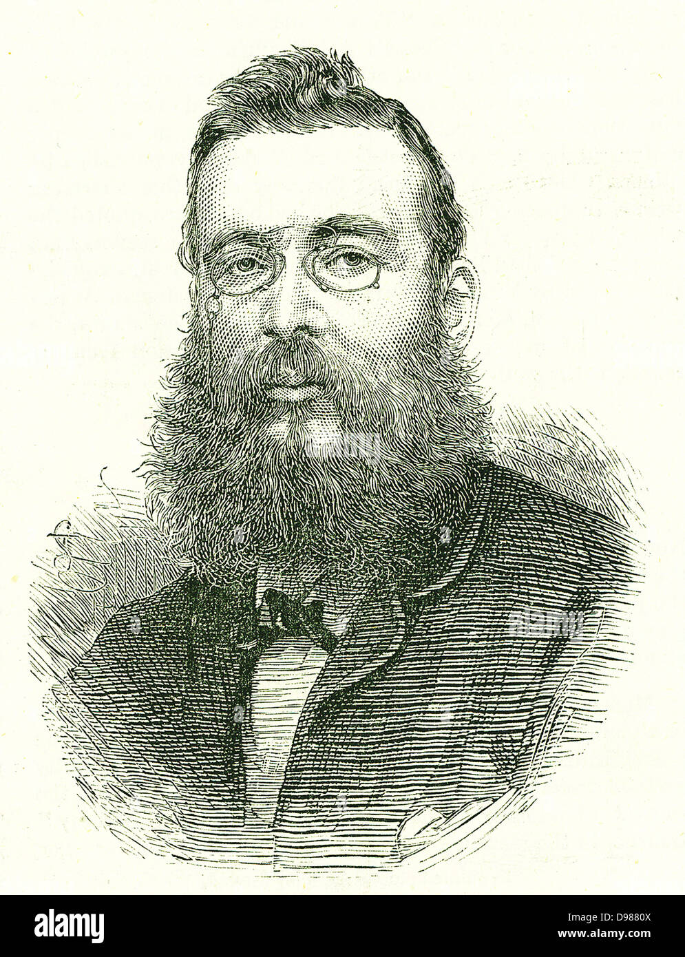 Fenian explosives conspiracy, April 1883: PJ Tynan, supposed organiser of the conspiracy, who was also implicated - Stock Image