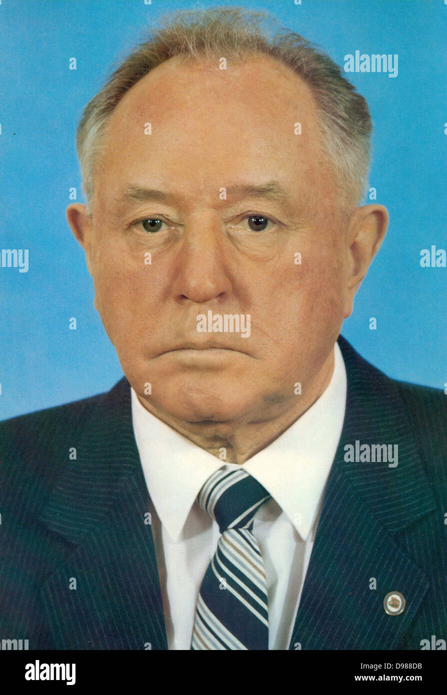 Erich Mielke (1907-2000), German Communist politician. Minister of State Security in the German Democratic Republic - Stock Image