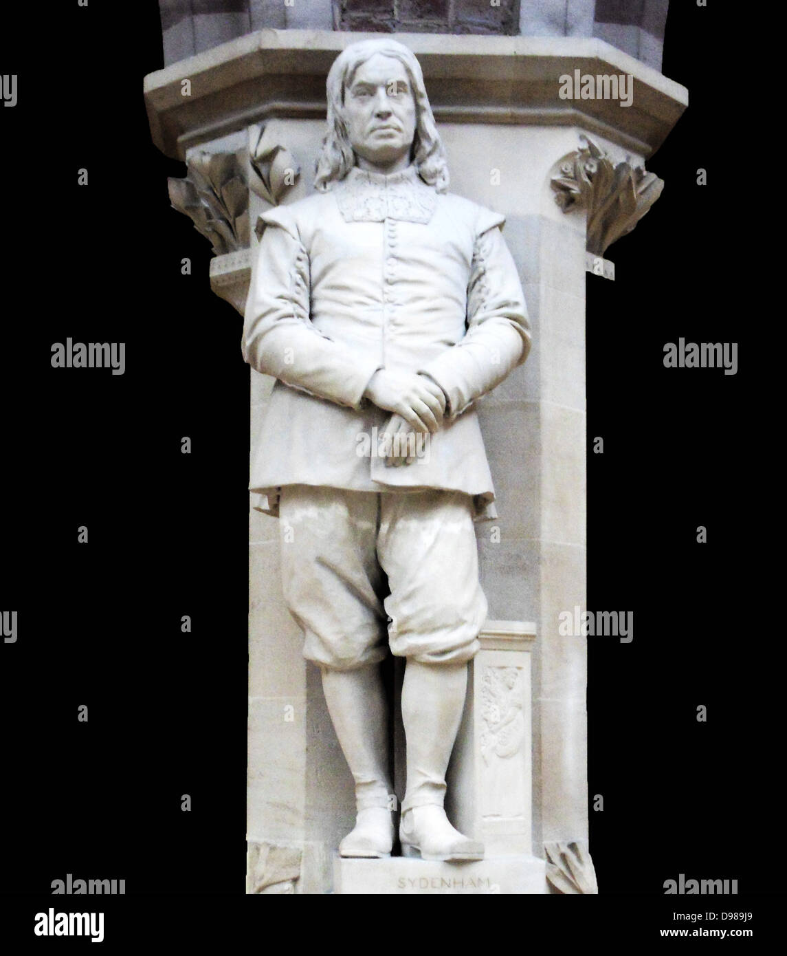 Sydenham, statue - Stock Image