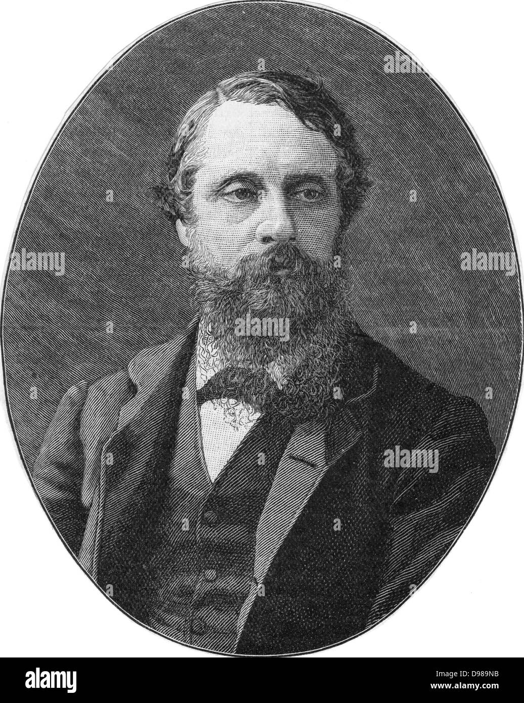 Lord Frederick Charles Cavendish (1836-1882) English Liberal politician. Appointed Chief Sacretary for Ireland in - Stock Image